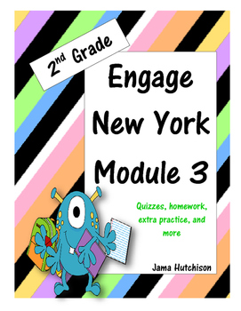 Engage New York (aka Eureka Math) 2nd Grade Module 3 Bundle