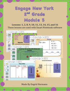 Engage New York 2nd Grade Module 5 (SMART NOTEBOOK SOFTWARE)