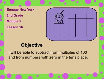Engage New York 2nd Grade Module 5 Lesson 16