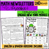 Engage NY Math 2nd Grade Parent Letters Module 1