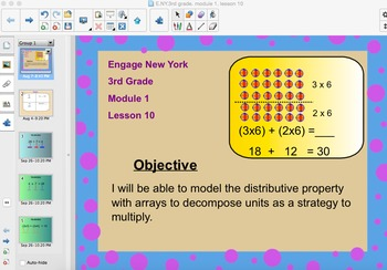 Engage New York 3rd Grade, Module 1, Lesson 10