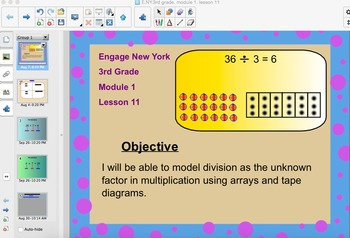 Engage New York 3rd Grade, Module 1, Lesson 11