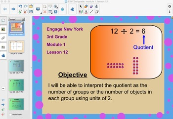Engage New York 3rd Grade, Module 1, Lesson 12