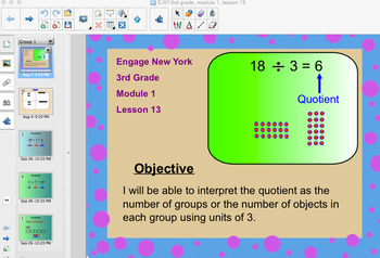 Engage New York 3rd Grade, Module 1, Lesson 13