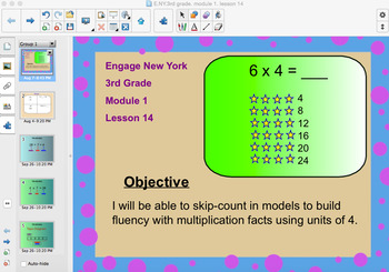 Engage New York 3rd Grade, Module 1, Lesson 14