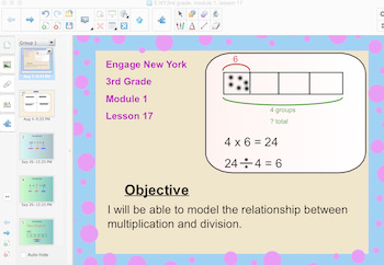 Engage New York 3rd Grade, Module 1, Lesson 17