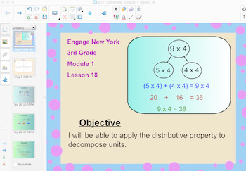 Engage New York 3rd Grade, Module 1, Lesson 18