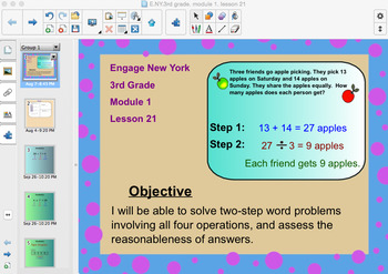 Engage New York 3rd Grade, Module 1, Lesson 21