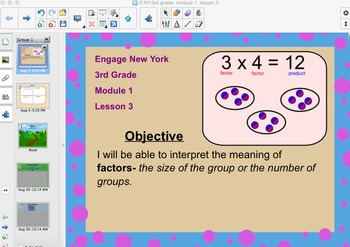 Engage New York 3rd Grade Module 1 Lesson 3