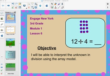 Engage New York 3rd Grade, Module 1, Lesson 6