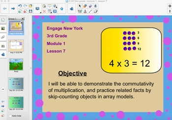 Engage New York 3rd Grade, Module 1, Lesson 7