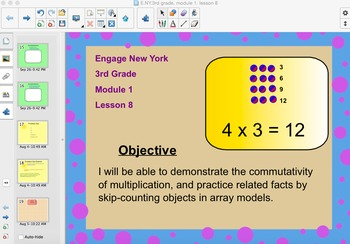 Engage New York 3rd Grade, Module 1, Lesson 8