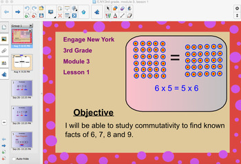 Engage New York 3rd Grade, Module 3, Lesson 1