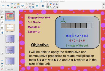 Engage New York 3rd Grade, Module 3, Lesson 2