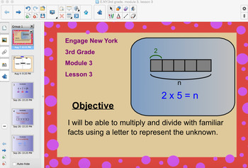 Engage New York 3rd Grade, Module 3, Lesson 3