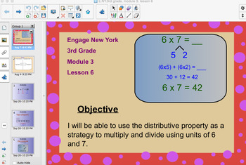 Engage New York 3rd Grade, Module 3, Lesson 6