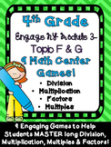 Engage New York 4th Grade Module 3 Math Center Games Topic