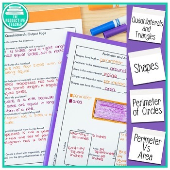 Engage New York Aligned No Cut Interactive Notebook: Grade 3, Module 7