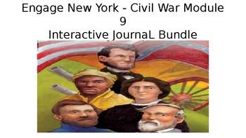 Engage New York - Civil War Module 9 - Interactive Journal BUNDLE
