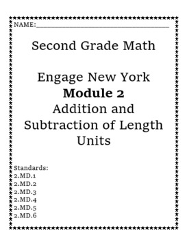 Engage New York Eureka Math Module Cover Pages with Standards