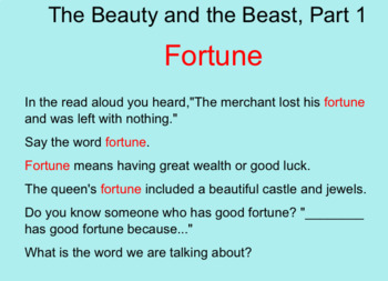 Engage New York Domain 1 Lesson 3 Part 1 Beauty and the Beast, Part 1