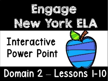 Engage New York Domain 2 Lessons 1-10 Power Point, First Grade