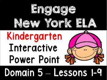 Engage New York Domain 5 Kindergarten  Interactive Power Point