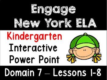 Engage New York Domain 7 Kindergarten Interactive Power Point