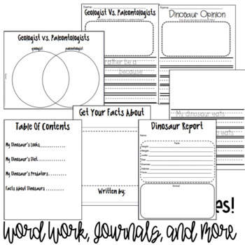 Engage New York Domain 7: The History Of Earth Worksheets (Lessons 1-8)