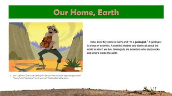 Engage New York: Domain 7 The History of the Earth (First Grade)