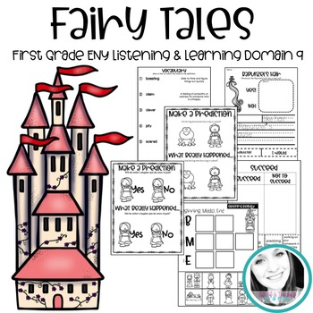 First Grade Engage New York Domain 9: Fairy Tales Journals (All Lessons)