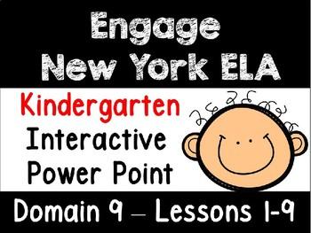 Engage New York Domain 9 Kindergarten Interactive Power Point