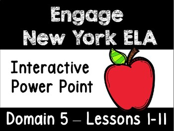 Engage New York Domain 5 Lessons 1-11 Power Point, First Grade