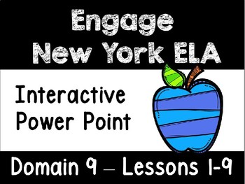 Engage New York Domain 9 Lessons 1-9 Power Point, First Grade