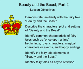 Engage New York Domain I Lesson 4 Beauty and the Beast Part 2