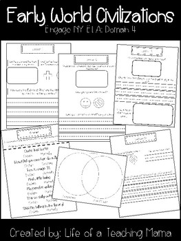 CKLA/ENY Early World Civilizations, Grade 1, Domain 4 Listening Journal