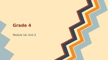 Engage New York ELA Grade 4: Module 1A: Unit 2: Lesson 4