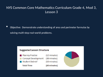 Engage New York Eueka Math 4th grade module 3 lesson 3 Power Point