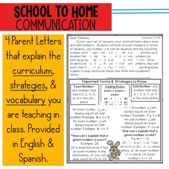 Engage New York/Eureka 2nd Grade Module 6 parent letters, games & vocab. posters