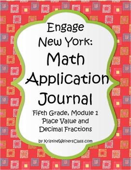 Engage New York / Eureka Application Problems Fifth Grade Module 1