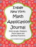 Engage New York / Eureka Application Problems Fifth Grade Module 1