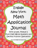 Engage New York / Eureka Application Problems Fifth Grade Module 2