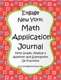 Engage New York / Eureka Application Problems Fifth Grade Module 3