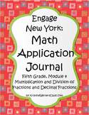 Engage New York / Eureka Application Problems Fifth Grade Module 4