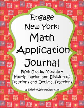 Engage New York / Eureka Application Problems Fifth Grade Module 4