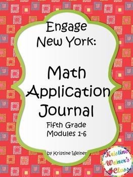Engage New York / Eureka Application Problems Fifth Grade {Modules 1-6 Bundled}