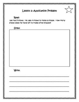 Engage New York / Eureka Application Problems First Grade Module 5