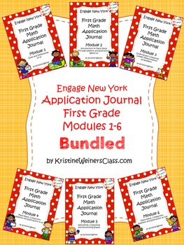 Engage New York / Eureka Application Problems First Grade {Modules 1-6 Bundled}