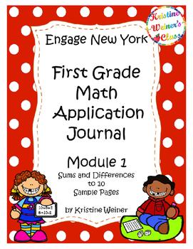 Engage New York / Eureka Application Problems First Grade--Sampler