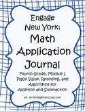 Engage New York / Eureka Application Problems Fourth Grade